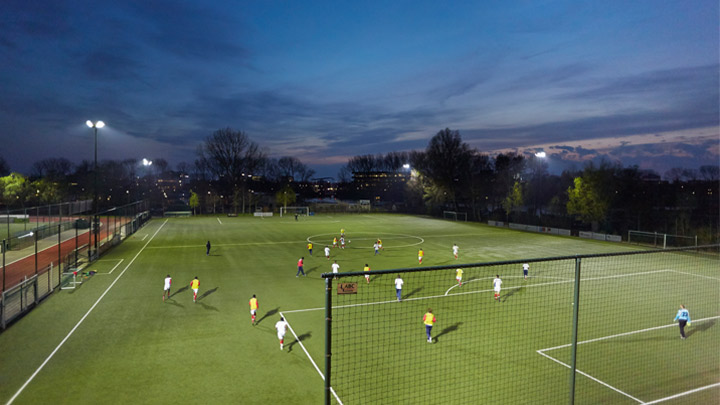 PerfectPlay's standard features provide superb sport lighting straight out of the box