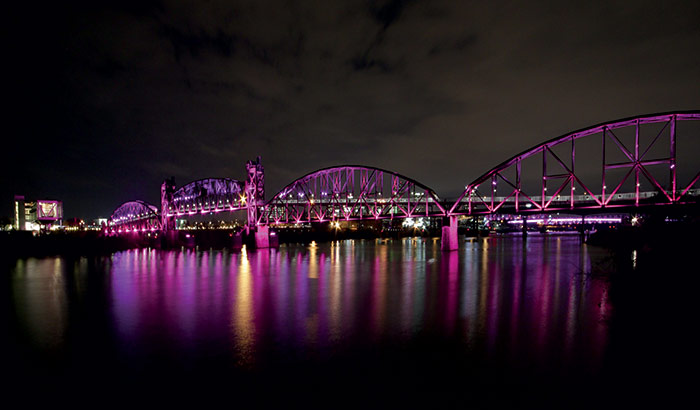Les ponts de Little Rock en Arkansas