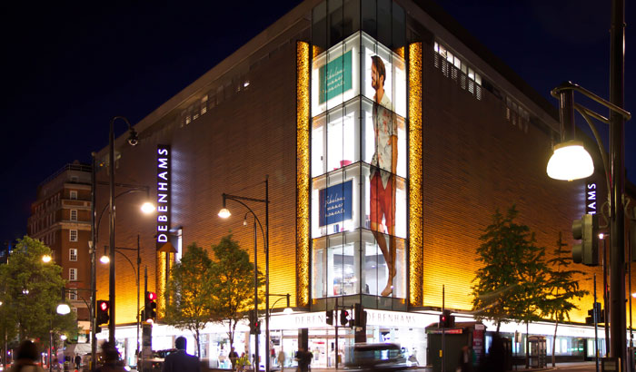 Debenhams Oxford Street