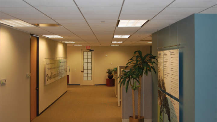 Philips lighting at Cushman & Wakefield
