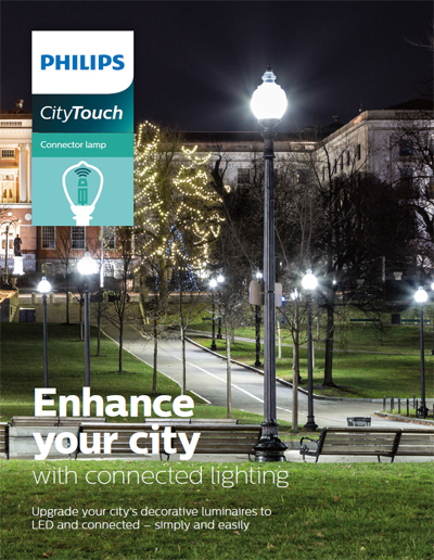 CityTouch connector lamp brochure