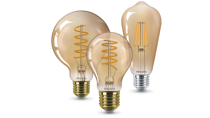 Philips Vintage LED bulbs product family